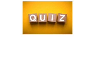 Les weekend quiz